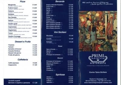 Ristorante Pizzeria Primi Piatti